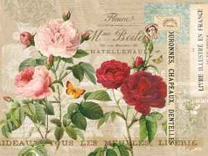 Garden Botanical Taupe by Ophelia & Co^