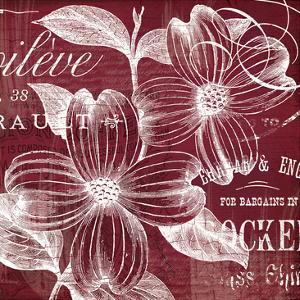 OxBlood Fleurs 1 by Ophelia & Co^
