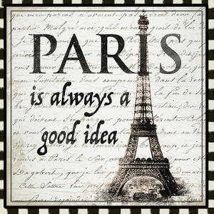 Paris is Always a Good Idea by Ophelia & Co.
