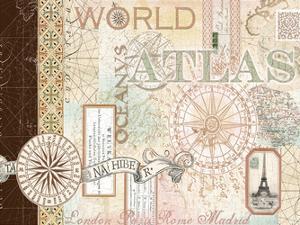 World Atlas 1 by Ophelia & Co^