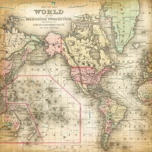 World Map 4 by Ophelia & Co.