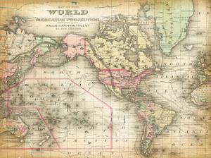 World Map 4 by Ophelia & Co^