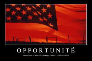 Opportunités: Citation Et Affiche D'Inspiration Et Motivation