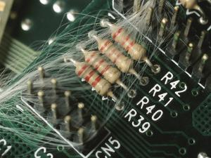 Optic Wires in Computer Processor