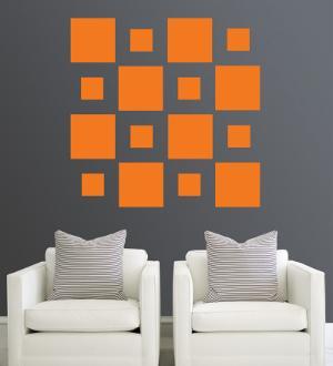 Orange Squares