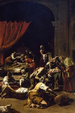 Nativity of Virgin by Orazio Borgianni