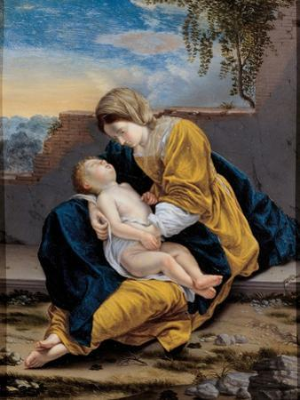 Madonna and Child in a Landscape, 1621-1624