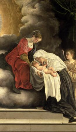 Madonna and Child with St. Frances of Rome