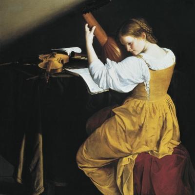 The Lute Player by Orazio Gentileschi