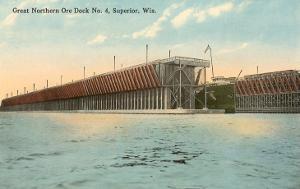 Ore Dock, Superior, Wisconsin