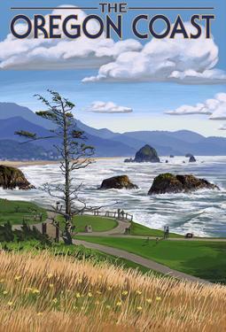Oregon Coast Rocky Shore