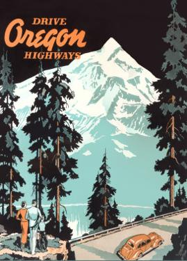 Oregon Travel Poster, Troutdale