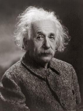 Portrait of Albert Einstein, c.1947 by Oren Jack Turner
