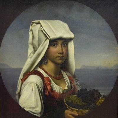 Neapolitan Girl with Fruits, 1831