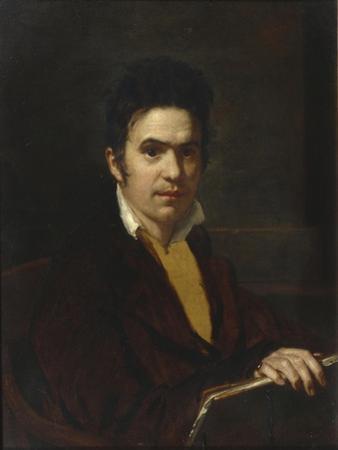 Portrait of Alexander Khristoforovich Vostokov (1781-186), before 1816