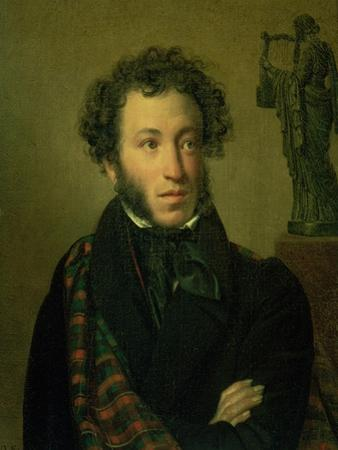 Portrait of Alexander Pushkin, 1827