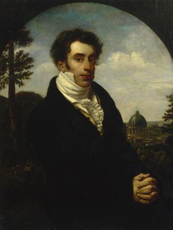 Portrait of Prince Alexander Mikhailovich Golitsyn (1798-185), 1819