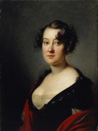 Portrait of Princess Yelena Mikhaylovna Galitzine (1776-185), 1815