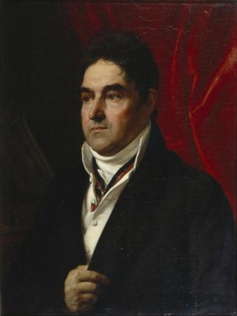 Portrait of Vasily Semyonovich Khvostov (1756-183), 1814