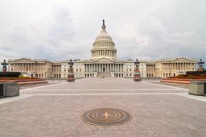 The U.S. Capitol - Washington Dc, United States by Orhan