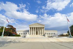 U.S. Supreme Court in Autumn - Washington Dc, United Sates by Orhan