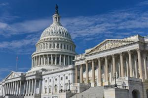United States Capitol Building East Facade - Washington DC United States by Orhan