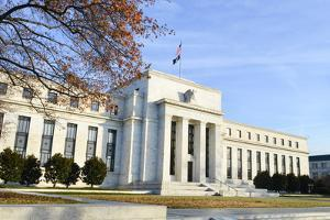 Washington DC - Federal Reserve Building in Autumn by Orhan