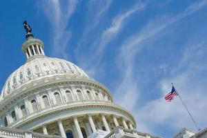 Washington Dc, US Capitol Building Dome by Orhan