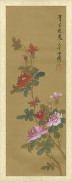 Oriental Floral Scroll IV