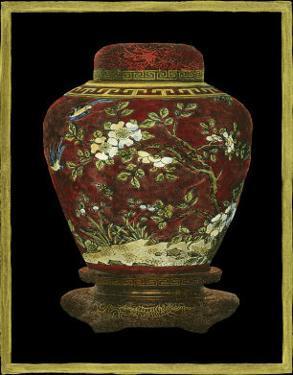 Oriental Ginger Jar I