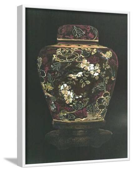 Oriental Ginger Jar II--Framed Art Print