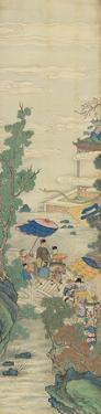 Silk Scroll I by Oriental School