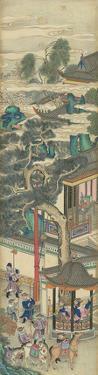 Silk Scroll II by Oriental School
