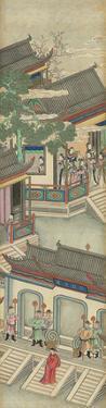 Silk Scroll III by Oriental School