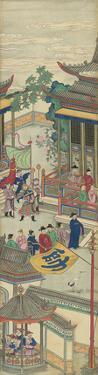 Silk Scroll IV by Oriental School