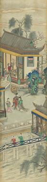 Silk Scroll IX by Oriental School
