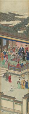 Silk Scroll V by Oriental School
