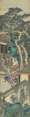Silk Scroll VI by Oriental School