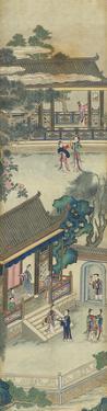 Silk Scroll VII by Oriental School