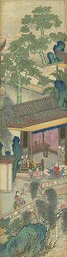 Silk Scroll VIII by Oriental School