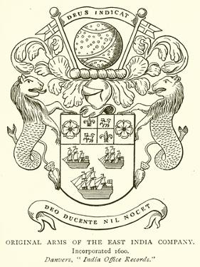 Original Arms of the East India Company