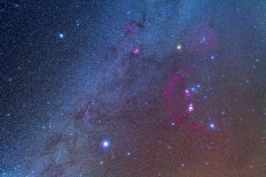Orion and the Winter Triangle Stars
