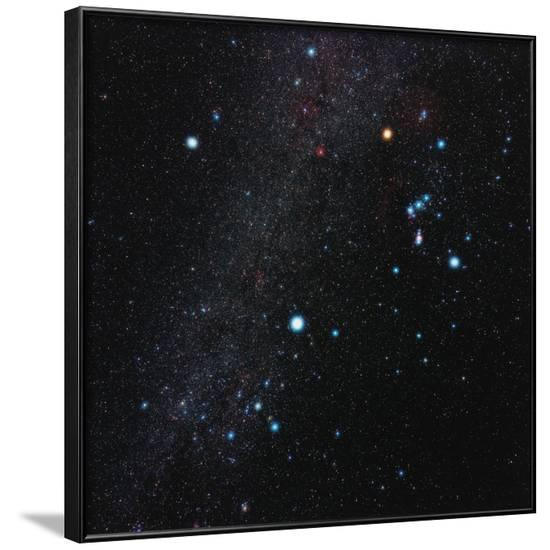 Orion Constellation-Eckhard Slawik-Framed Photographic Print