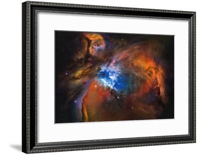 Orion Nebula Brilliant Space Galaxy Photo Poster--Framed Poster