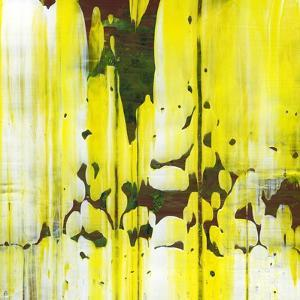 Abstract Yellow Painting Texture by oriontrail2