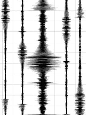 Earthquake Waves Graph by oriontrail2