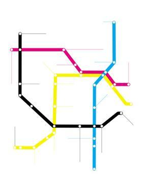 Modern City Subway Map by oriontrail2