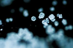 Tiny Salt Crystals by oriontrail2