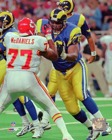 Orlando Pace 1997 Action