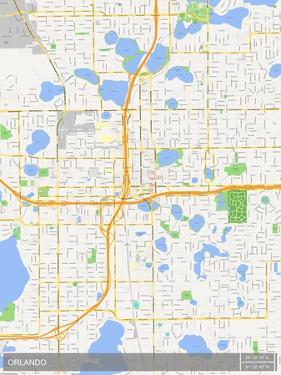 Orlando, United States of America Map